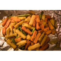 Légumes marinés pour BBQ